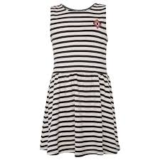 striped jersey dress girls striped dress from tom tailor