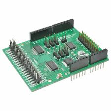 low cost digital and analog io expander shield numato lab