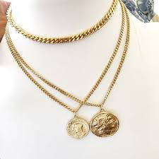double necklace style images Kim kardashian medium double necklaces bestseller gold jpg
