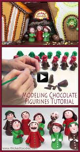 best 25 modeling chocolate figures ideas on pinterest fondant
