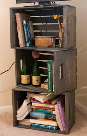 Crates For Bookshelves - bookshelf made of michaels u0027s crates crafts pinterest crate