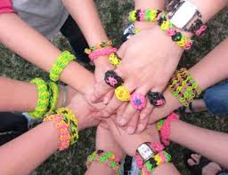 make rubber bracelet images The new silly bandz rainbow loom bracelets a hit with kids jpg