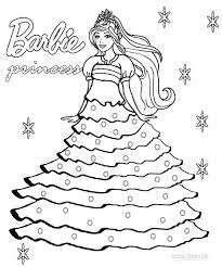 coloring pages good barbie printing games wedding