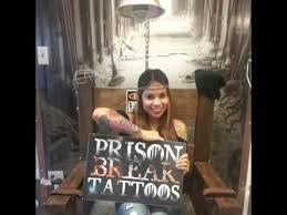 get inked up houston texas at prison break tattoos youtube