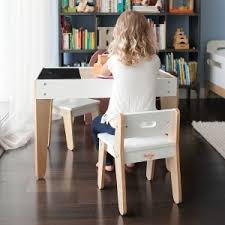 Modern Kids Desk Buy The Pkolino Modern Toddler Table And Chairs White Pkfftcmdwh