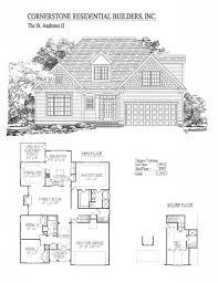 Apex Floor Plans by St Andrews Ii Home Floor Plan Apex Cary U0026 Holly Springs Nc