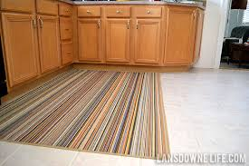 Striped Kitchen Rug Large Kitchen Rugs Home Design Ideas And Pictures