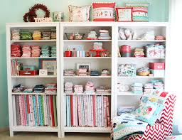 Craft And Sewing Room Ideas - seworganized inspiration for your sewing space seams and scissors