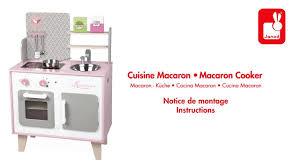 janod maxi cuisine chic cuisine macaron janod notice de montage