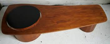 modern teak coffee table by rs associates designed for expo 1967