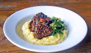 slow cooked ox cheeks in wine recipe great british chefs