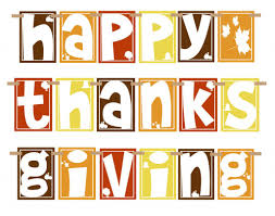 thanksgiving message from acting principal loch ra