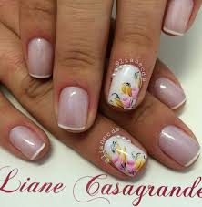 35 french nail art ideas flora design floral designs and flora