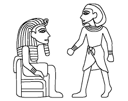 imagenes egipcias para imprimir dibujo de reyes egipcios para colorear dibujos net