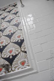 bathroom makeover tile accent border day 18 jenna burger