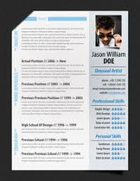 fancy contemporary resume templates 4 52 modern resume templates