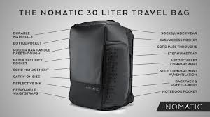 Georgia Travel Pouch images The nomatic 30l travel bag by nomatic kickstarter 0&amp