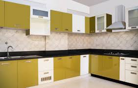 yellow cabinets kitchen best design idolza