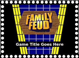 Family Feud Name Tag Template Family Fued Powerpoint Template Reboc Info