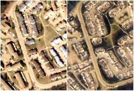 Fort Mcmurray Alberta Canada Map by Photos Fort Mcmurray Fire Devastating Before And After Satellite