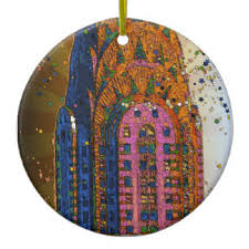 chrysler building ornaments keepsake ornaments zazzle