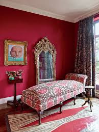 home decor red red room decoration inspiration photos architectural digest