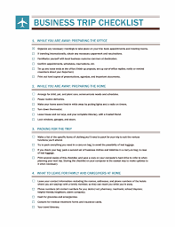 business trip report template pdf pdf business travel checklist