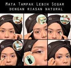 tutorial make up natural untuk kulit coklat make up tutorial wajah cerah ala wardah oleh vindy harfrida