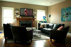 Arranging Living Room With Corner Fireplace Furniture Exciting Living Roomgaming Setup Far Creative Room