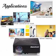 tv home theater aliexpress com buy excelvan gm60 mini portable led projector for