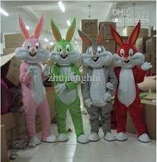 costumes apparel bugs bunny costumes mascot cartoon