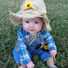 5 Month Baby Boy Halloween Costumes Toddler Baby Boy Halloween Costume Diy Scarecrow Costume