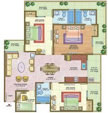 Floor Plan For Kids Nandini Build Home Metro Suites Vaishali Ghaziabad On