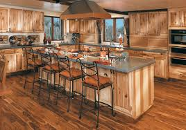 rustic hickory kitchen cabinets rustic hickory kitchen cabinets home design ideas
