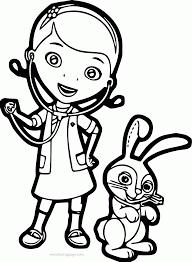 doc mcstuffins pet vet bunny coloring page wecoloringpage
