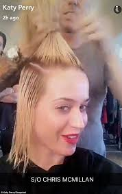 hair cut steps after cancer katy perry unveils a miley cyrus shaved hairdo daily mail online
