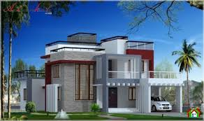 contemporary style house plans architecture kerala square stylish contemporary style house
