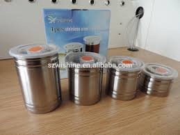 kitchen canisters stainless steel stainless steel kitchen canister sets stainless steel kitchen