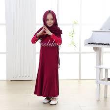 new 2016 jilbab abaya burka hijab for kid new girls maxi dress