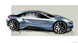 bmw i8 wallpaper 2015 bmw i8 coupe design sketch hd wallpaper 140