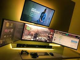 Top 10 Pc Gaming Setup And Battle Station Ideas by 678 Best Gaming U0026 Pc Set Ups Images On Pinterest Pc Setup