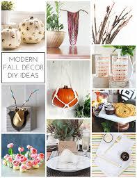 Fall Decor Diy - modern fall decor diy ideas homey oh my