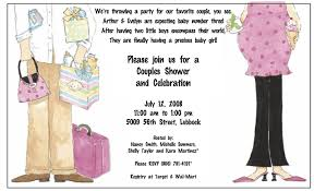 baby shower wording for coed coed baby shower invitation wording