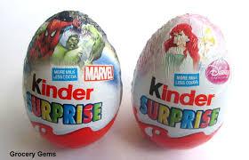 egg kinder grocery gems review limited edition kinder disney