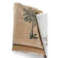 Decorative Bathroom Towels Avanti Palm Tree Bath Towel Bealls Florida