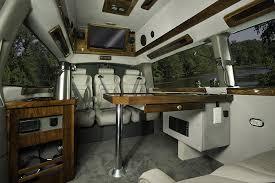 Conversion Van Interiors Land Jet Mobile Office Vans Driving Your Business Forward Land