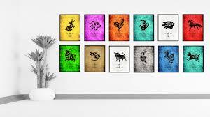 Zodiac Home Decor by Chinese Zodiac Decorative Wall Art Home Décor Gift Ideas