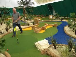 two crazy golfers