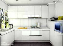 Modern Kitchen With White Cabinets by Lovable Modern Kitchen White Cabinets About Interior Remodel