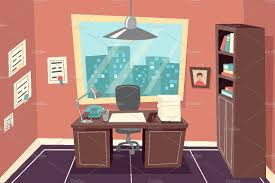 100 livingroom cartoon 100 livingroom cartoon clipart livingroom cartoon business working office room graphics creative market